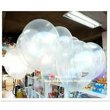 wedding decorations wholesale 50pcs lot clear transparent balloons white balloon
