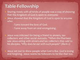 What Is Open Table Foundations Of Christianity The Person U0026 Preaching Of Jesus