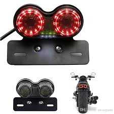 stop sign with led lights motorcycle led stop tail light rear brake turn signal lights l