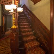 the main staircase what is the winchester mystery house