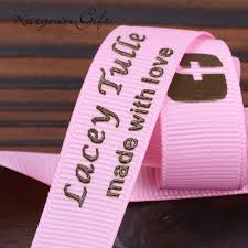 personalized ribbon for wedding favors personalized wedding ribbon home design hay us