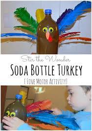 soda bottle turkey motor activity stir the