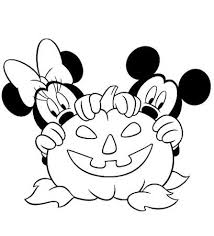 109 coloring pages images disney halloween