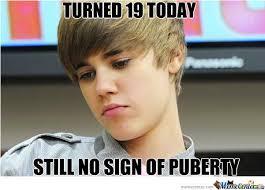 Justin Bieber Birthday Meme - poor justin by prash112 meme center