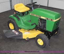 john deere 111 lawn mower item v9245 sold wednesday feb