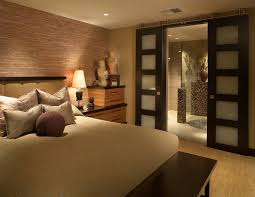 interior sliding barn doors bedroom asian with none