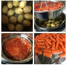 one pot meatloaf yukon potatoes carrots ip belle dujour