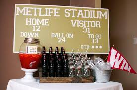 football themed baby shower football baby shower baby shower ideas themes