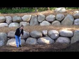 Backyard Hill Landscaping Ideas How To Turn A Hill Into A Flat Yard With A Retaining Wall Youtube