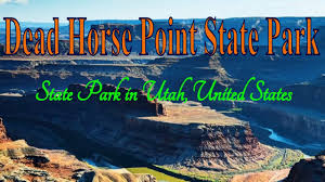 Utah travel state images Visiting dead horse point state park state park in utah united jpg