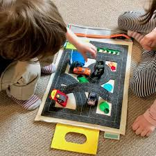 matchbox car play table wheels toys playmat matchbox car play mat toys