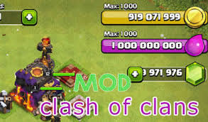 download game mod coc thunderbolt clash of clans glith gems 2016 online free download and install