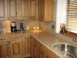 Oak Kitchen Cabinets Oak Cabinets With Granite Countertops Rustic Oak Kitchen