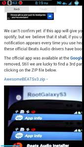 beats audio installer apk how to install beats audio into a galaxy s3 root