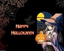 anime characters in costumes flat halloween wallpapers anime