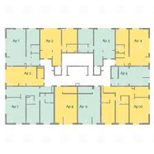apartment building floor plan building plans clipart 17