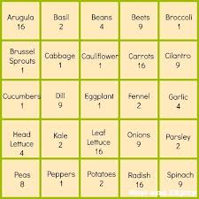 square foot gardening method square feet squares and plants