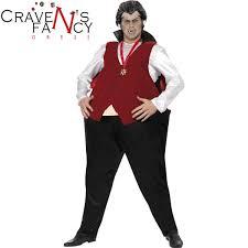 fat suit halloween mens smiffys fat vampire funny dracula fancy dress costume