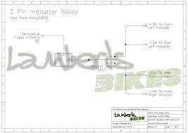 indicator relay lamberts bikes