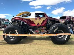 monster truck jams wonder woman monster trucks wiki fandom powered by wikia