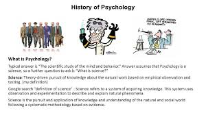 history of psychology what is psychology typical answer is u201cthe