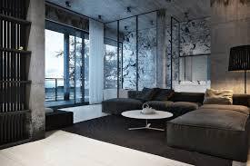bureau recrutement arm馥 de terre igor sirotov achromatic interior design modern interior