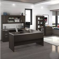 U Shape Desks U Shaped Desk Shop Wrap Around Desk With Desk Hutch Nbf