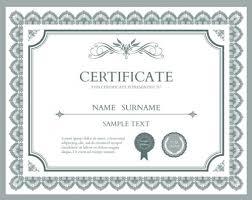 10 sets of free certificate design templates designfreebies