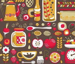 mum u0027s kitchen wallpaper fabric irrimiri spoonflower