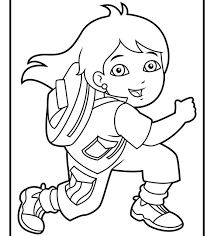 coloring pages diego rivera go diego coloring pages page free rivera printable dora and kids