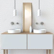 best 25 white mosaic bathroom ideas on pinterest scandinavian