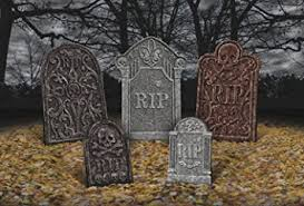 Halloween Props Decorations Uk by Tombstone Garden Decorations Halloween Party Graveyard Prop