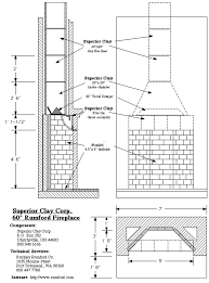 outdoor fireplace blueprints fireplace design and ideas