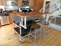 kitchen mobile breakfast bar freestanding kitchen island