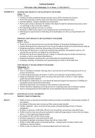 engineer resume exles new product development engineer resume sles velvet