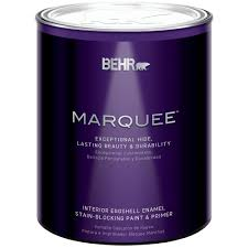 Interior Paint Home Depot Behr Marquee 1 Qt Medium Base Eggshell Enamel Interior Paint