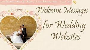 Wedding Websites Welcome Messages For Wedding Websites Wedding Website Message