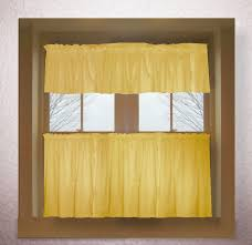 Gold Color Curtains Gold Color Tier Kitchen Curtain Two Panel Set
