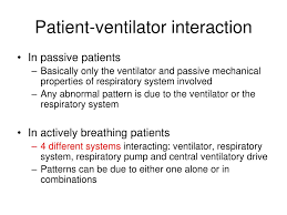 Types Of Ventilators Ppt Patient Ventilator Interaction Insight From Waveforms