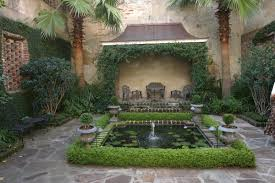 Courtyard Garden Ideas A Private Courtyard In Charleston South Carolina Fine Gardening