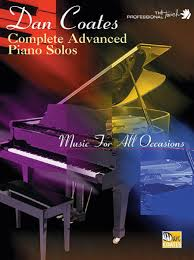 complete advanced piano solos sheet by dan coates sheet
