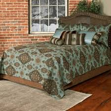 Teal Coverlet Western Bedding Paddington Teal Bedding Collection Lone Star
