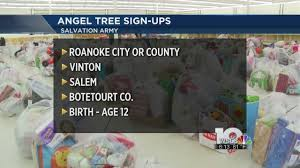 salvation army to begin 2016 angel tree registration youtube
