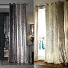 Curtains Ring Top Curtains Ring Top Curtains Ring Top Velvet Slate Grey Ivory