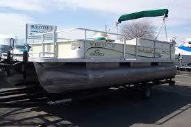 2001 crest 22 u0027 pontoon boat w mercury 90 hp 2 stroke o b u0026