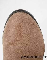womens chelsea boots size 9 uk look dolly brown block heel chelsea boots light