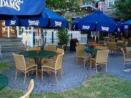 Restaurant Patio Tables by Samuel Adams Tables Chairs Umbrellas Patio Swamp Restauran U2026 Flickr