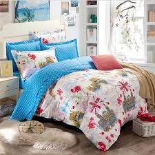 Teenager Bedding Sets by Blue Dot And Unique Pattern 100 Cotton Teen Bedding Sets
