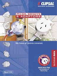 plugs sockets and adaptors catalogue clipsal pdf ac power