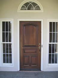 Solid Exterior Doors Custom Wooden Entry Exterior Front Doors For Homes